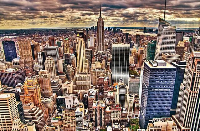 Nice Sundown in New York
