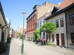 Malmo's historic center