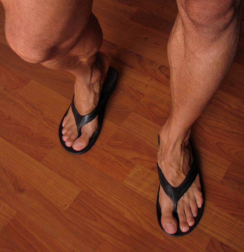Gay men feet fetish