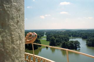 Bild av Minaret. minaret lednice rozhledna