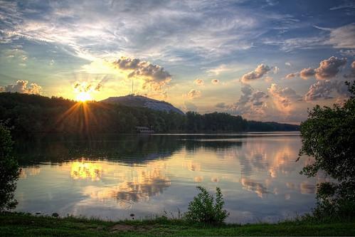 lake reflection nature 365 stonemountain hdr photomatix tonemapped tonemappedhdr canoneos60d