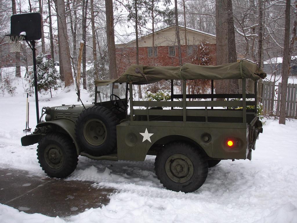 WC52 Dodge Truck, Cargo, 3/4 ton, 4x4