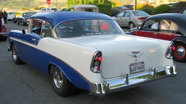 1956 chevrolet bel air 2 door hardtop custom 468 pwrd 39 2 for 1956 belair 2 door