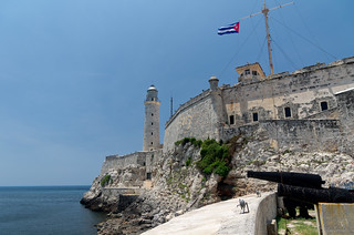 Watch the panoramic view from El Morro  - Things to do in Havana
