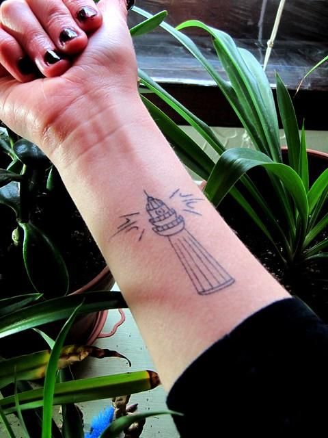 Lighthouse Tattoo Flickr Photo Sharing