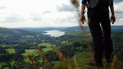 Me and Windermere by walkinguphills