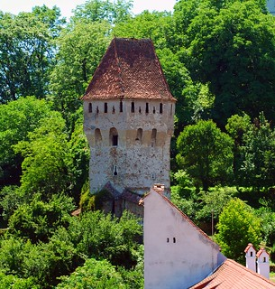 Romania Transylvania Sighisoara The Tinkers' Tower (Turnul Cositorarilor)