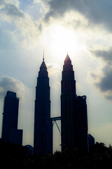 Petronas Twin Towers (Sunset)