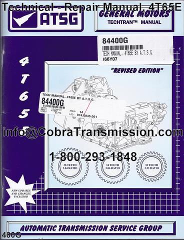 Manual Transmission Repair Manual Manual Transmission
