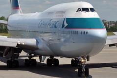 Cathay Pacific 747-412 B-HKF