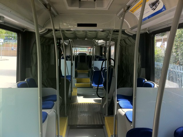 Back of the Nova Bus LFX