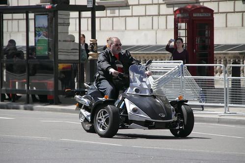 Trike on Whitehall