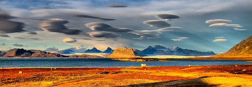 Enterprise?? No, Lenticular Clouds