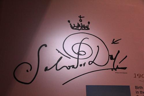 dali's signature