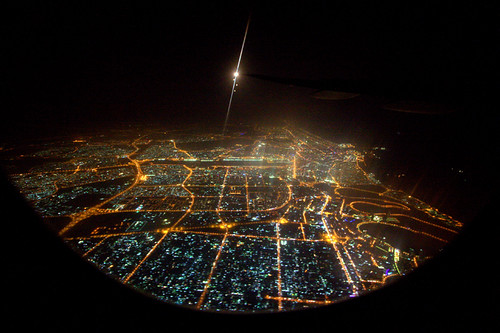 night lights fly dubai air uae aerial unitedarabemirates birdseyeview dazzling
