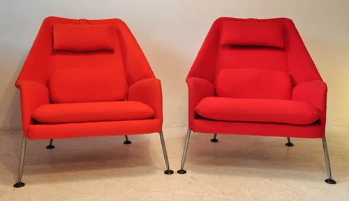 Ernest Race Heron chairs