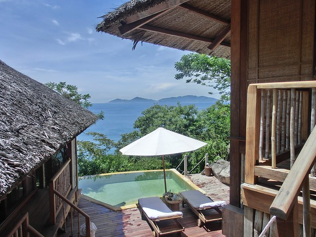 Private Pool in Hill Top Villa No.07 - Six Senses Ninh Van Bay