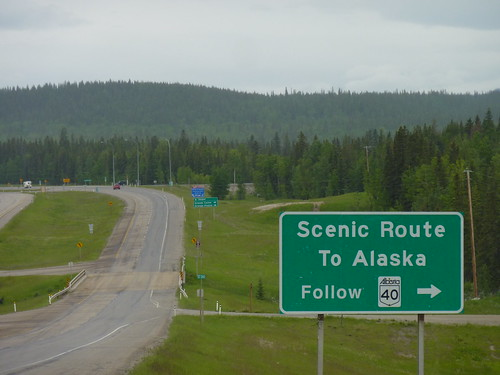 Canada, Hinton - to Alaska - nog ruim 2500 km te gaan