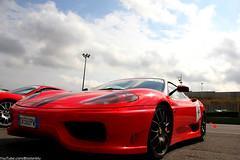 race car, automobile, automotive exterior, wheel, vehicle, performance car, automotive design, ferrari 360, bumper, ferrari s.p.a., land vehicle, luxury vehicle, supercar, sports car,