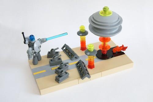 Giant Robots vs. Aliens