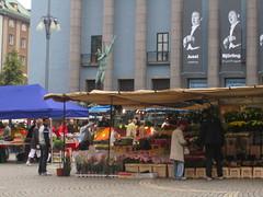 Market in Stockholm
