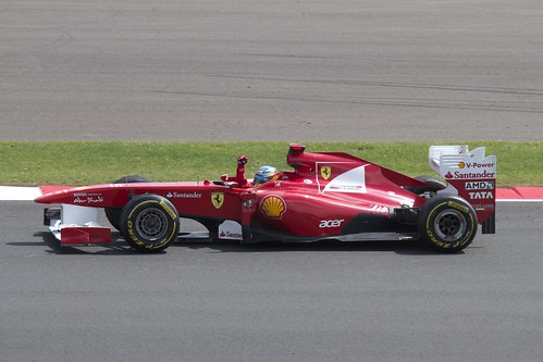 2011 British f1 GP  winner Fernando Alonso