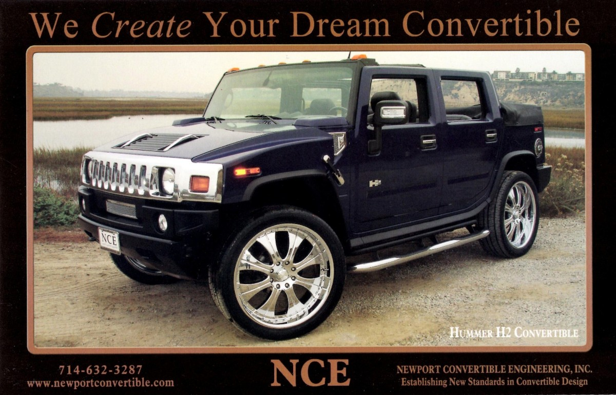 hummer  convertible nce