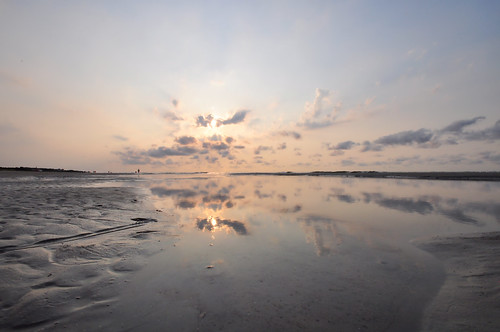 sea nature clouds sunrise reflections landscapes sand nikon day seascapes southcarolina beaches thesouth oceans atlanticocean beautifulclouds pinoy naturescapes hiltonheadisland travelphotography seashores d90 summerseason oceanscapes summervacations wetreflections handheldshot sooc wbauto sunriseshots perfectsunsetssunrisesandskys manualmodeexposure burkesbeach setholiver1 aperturef220 isolo03 summerinsouthcarolina 001secondexposure 1024mmtamronuwalens vacationimages pwpartlycloudy