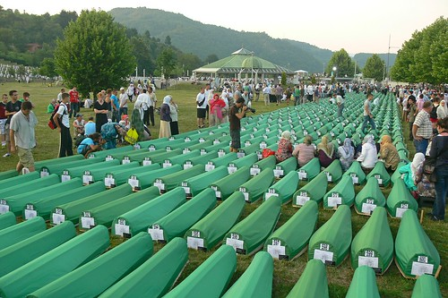 Memorial ceremony: 16th anniversary of Srebrenica massacre