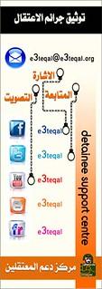 Information and contact details - تفاصيل و معلومات الأتصال مركز دعم المعتقلين