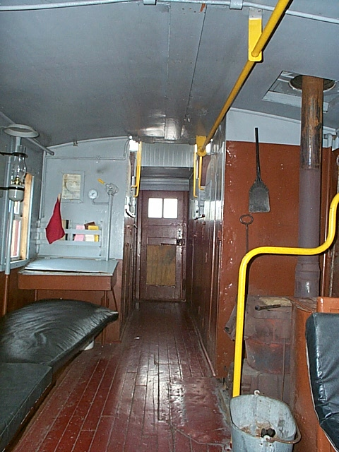 Railroad Caboose Interior http://www.flickr.com/photos/rgvrrm/5972794570/