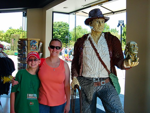 Tammi and Dakota and LEGO Indiana Jones