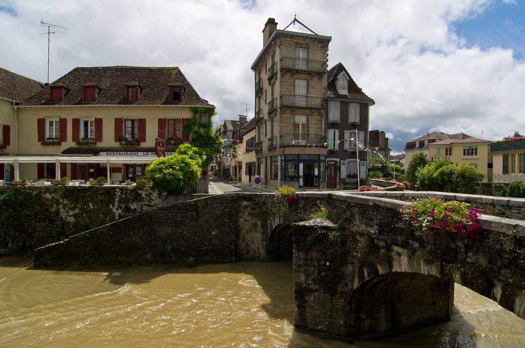 Salies-de-Béarn, Rue Loumé