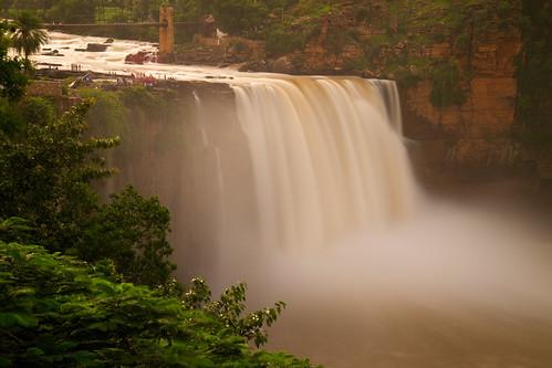 longexposure bridge india river waterfalls gorge karnataka belgaum canon1755mmf28 gokak gokakfalls canoneos7d amarraavi ghataprabha ghataprabhariver gettyimagesindiaq3