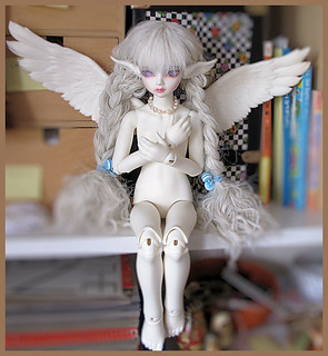 My lovely winged girl