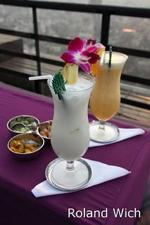 Bangkok - Drinks at Moon Bar