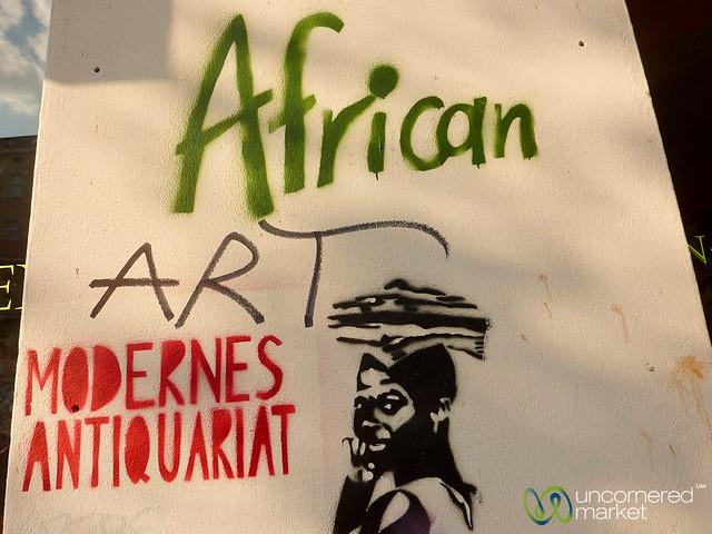 African Shop Street Art - Neukölln, Berlin