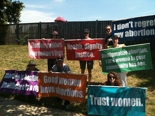 Abortion Rights Banners by Heather Ault