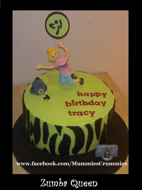 Zumba Cake Photos http://www.flickr.com/photos/mummiescrummies/6001184673/