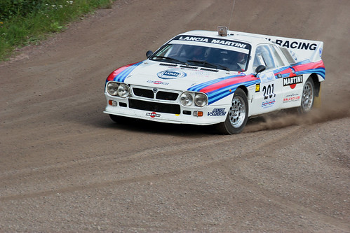 Lancia 037 Lahti Historic Rally 2011