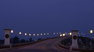 Sunrise on the Naval Academy Bridge, Annapolis, Maryland