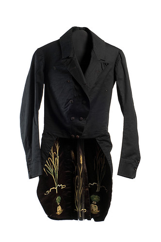Man's silk tailcoat