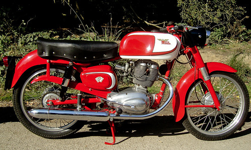Moto Morini `Tresette`1957.