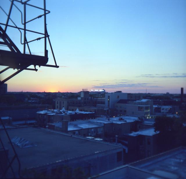 Sunset, Holga-esque