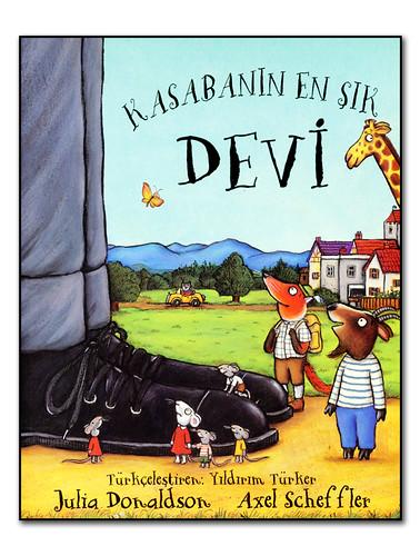 """Grafikofis Kitap """"Kasabanın En Şık Devi"""""""