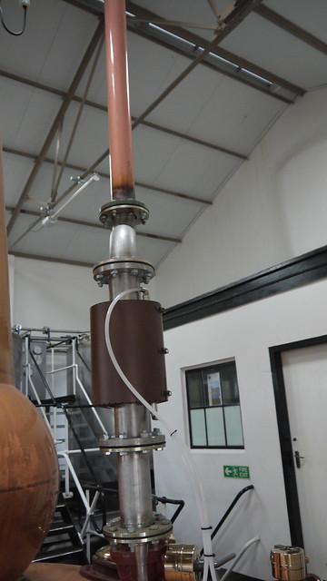 2011-06-09 085 Knockdhu Distillery - Stills Mini Condenser