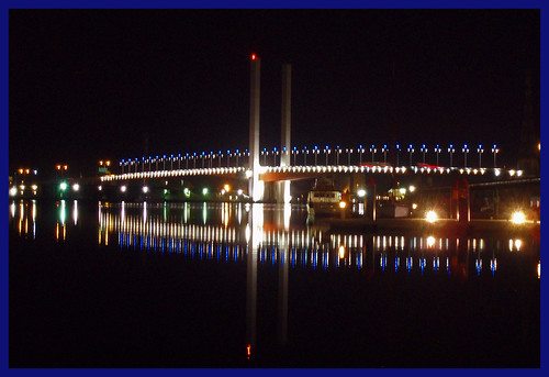 Bolte Bridge from Docklands