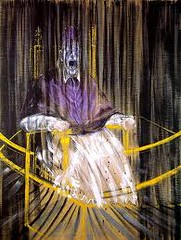 Francis Bacon, Screaming Pope, 1953