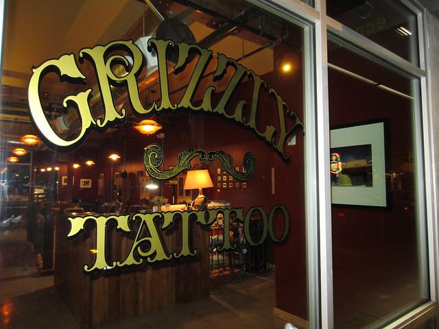 Grizzly tattoo shop portland oregon flickr photo sharing for Tattoo shops in portland oregon