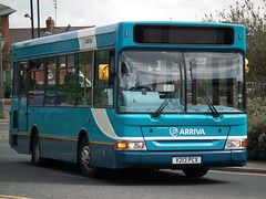 trolleybus(0.0), optare solo(0.0), tour bus service(0.0), vehicle(1.0), transport(1.0), mode of transport(1.0), public transport(1.0), dennis dart(1.0), minibus(1.0), land vehicle(1.0), bus(1.0), motor vehicle(1.0),
